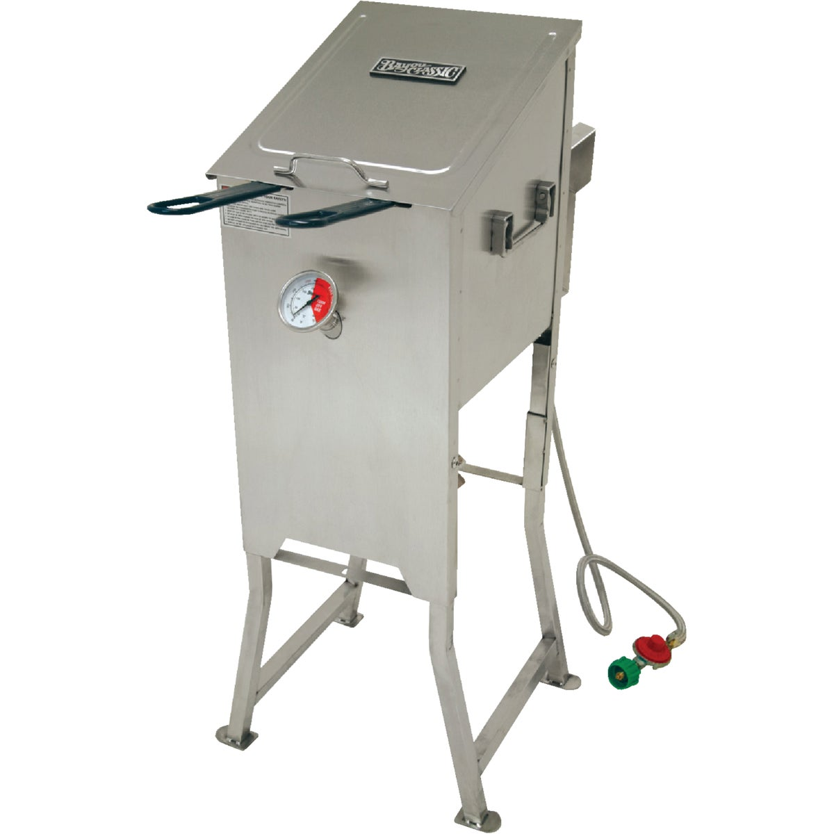 4GAL BAYOU FRYER - 700-701 by Barbour Intl