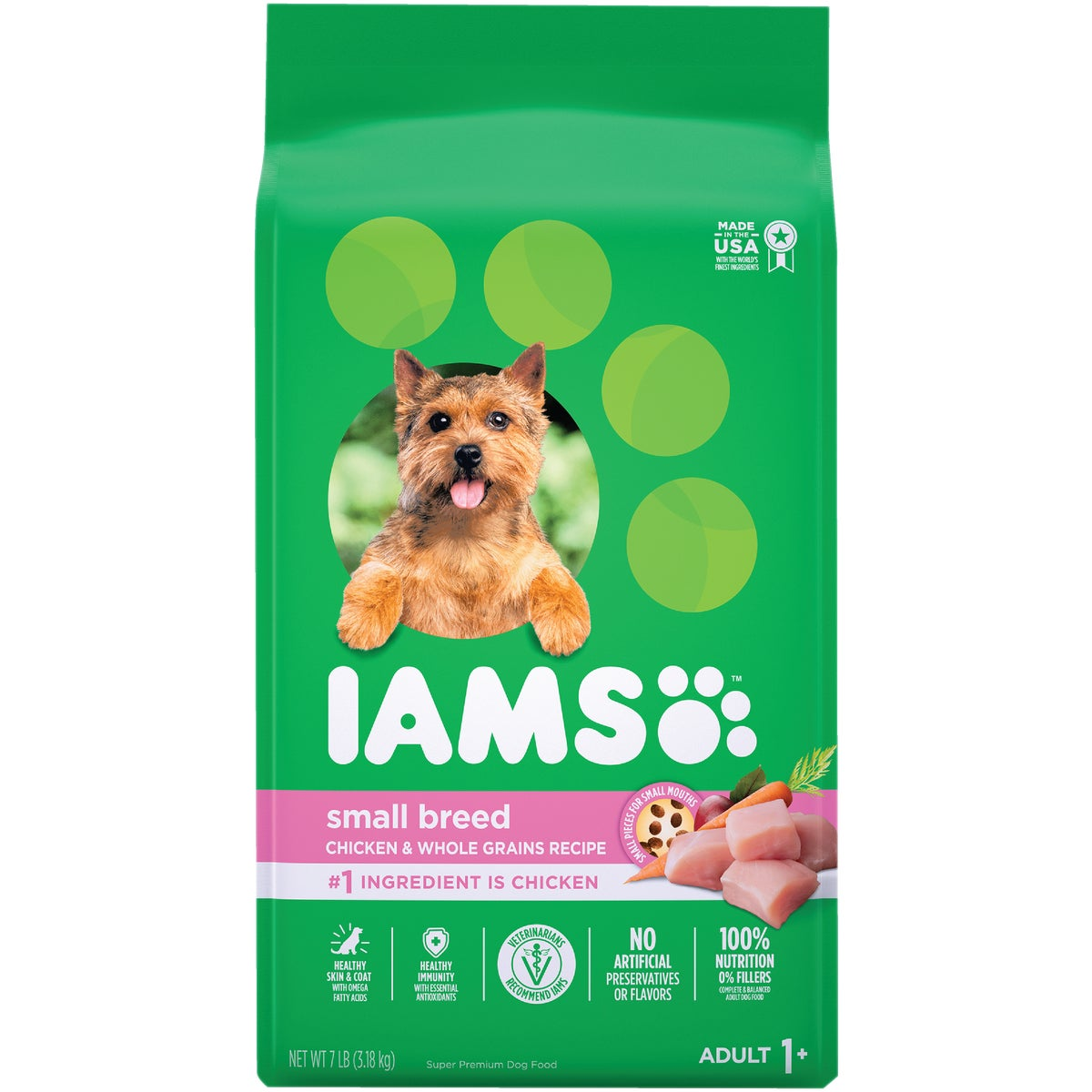 5LB SML/TOY ADULT FOOD - 12055 by Wolverton Iams
