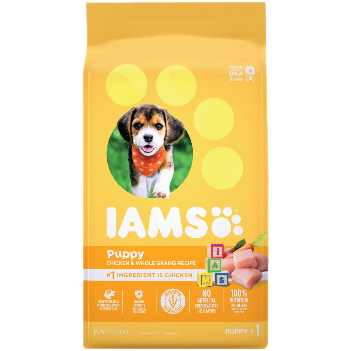 5.7LB ORGL PUPPY FOOD - 10839 by Wolverton Iams