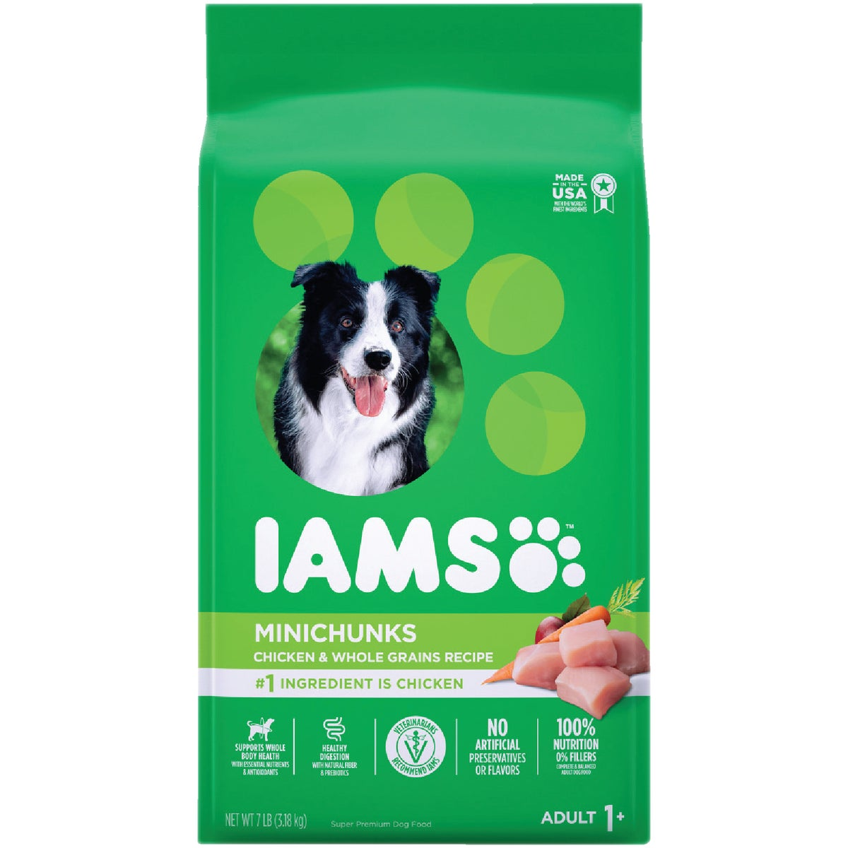 5.7LB MINICHUNK DOG FOOD - 10877 by Wolverton Iams