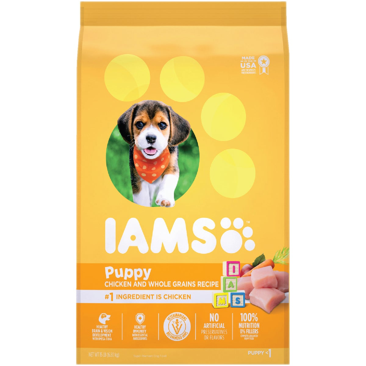 15LB ORGNL PUPPY FOOD - 10846 by Wolverton Iams