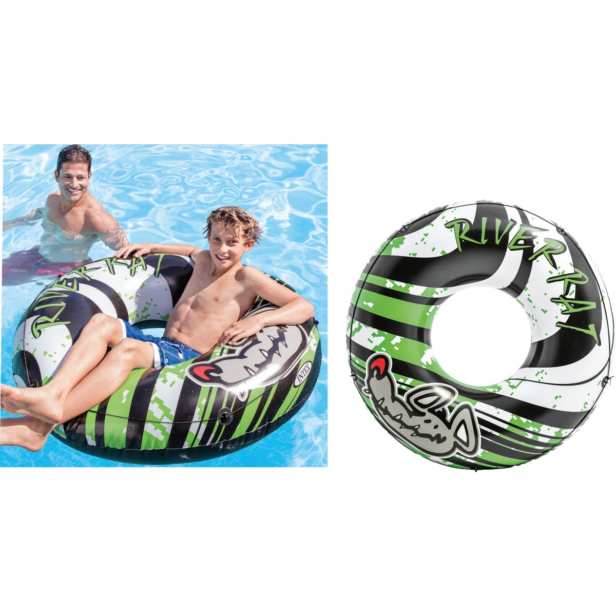 RIVER RAT TUBE - 68209EP by Intex Recreation