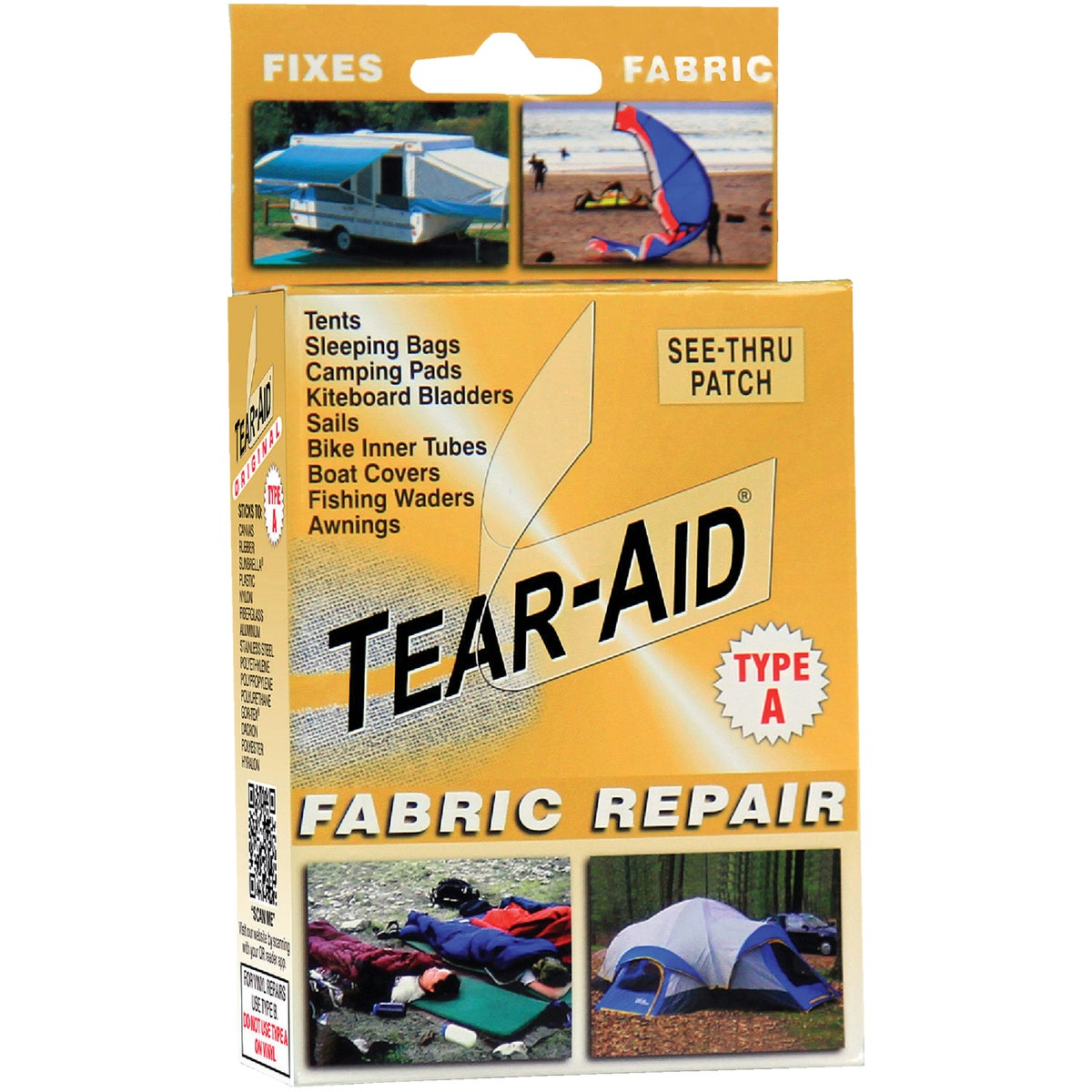 TYPE A REPAIR KIT - K-KIT-A01-100 by Tear Aid Repair