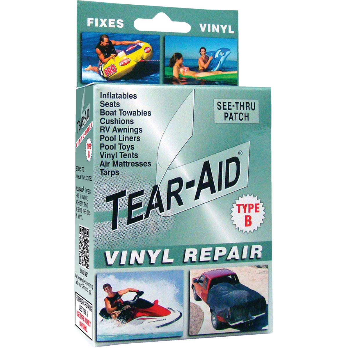 TYPE B REPAIR KIT - D-KIT-B01-100 by Tear Aid Repair