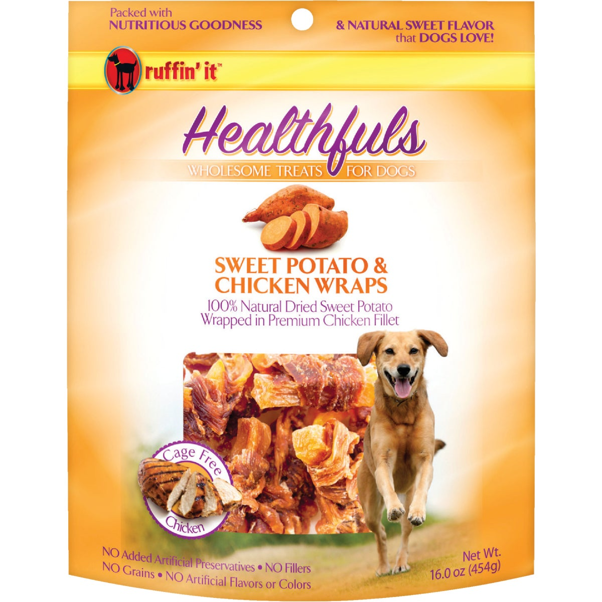 1LB CHKN/SWPOT DOG WRAPS - 08314 by Westminster Pet