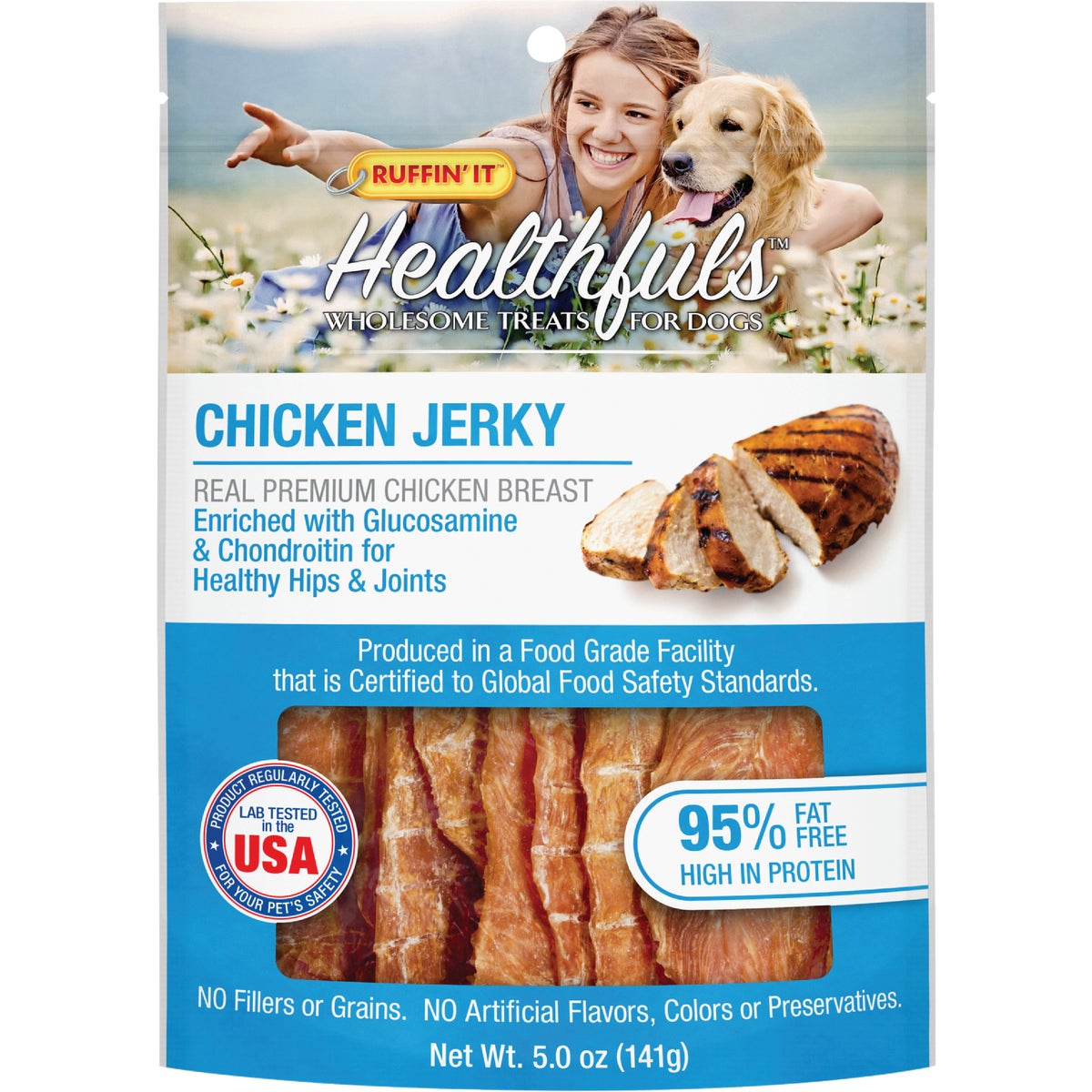 Healthfuls Chicken Tenders with Glucosamine and Chondroitin, 5-Ounce