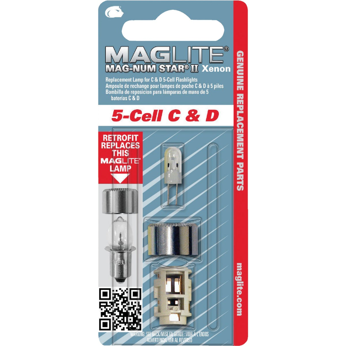 5CELL C/D XENON LAMP - LMXA501 by Mag Instrmnt