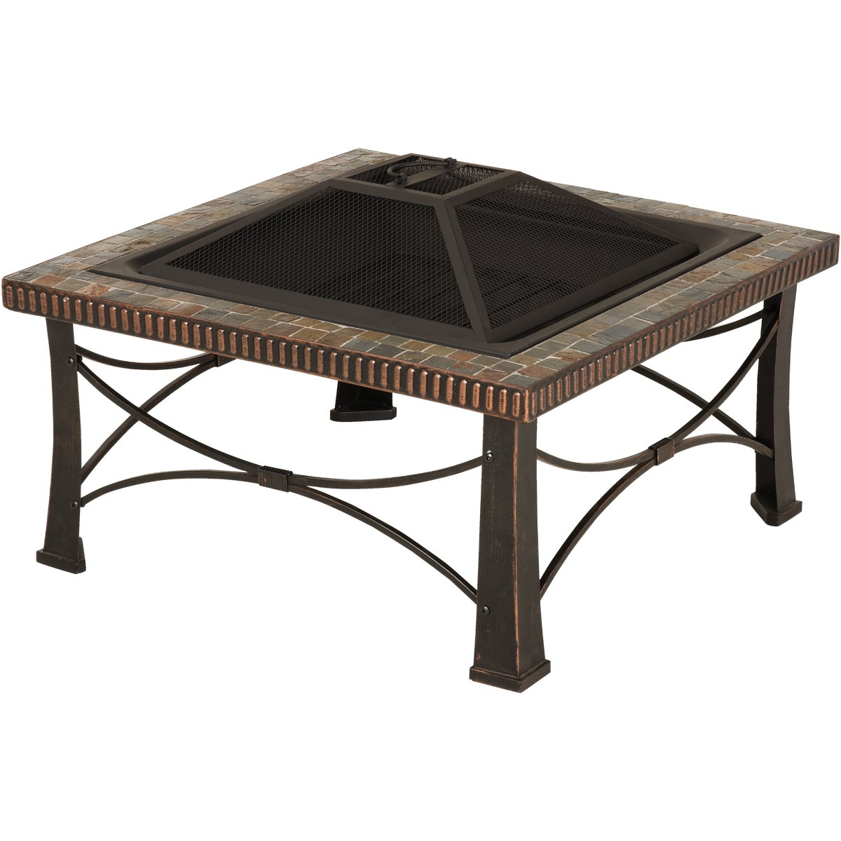 "30"" SQUARE FIRE PIT - FTB-013SB by Do it Best"