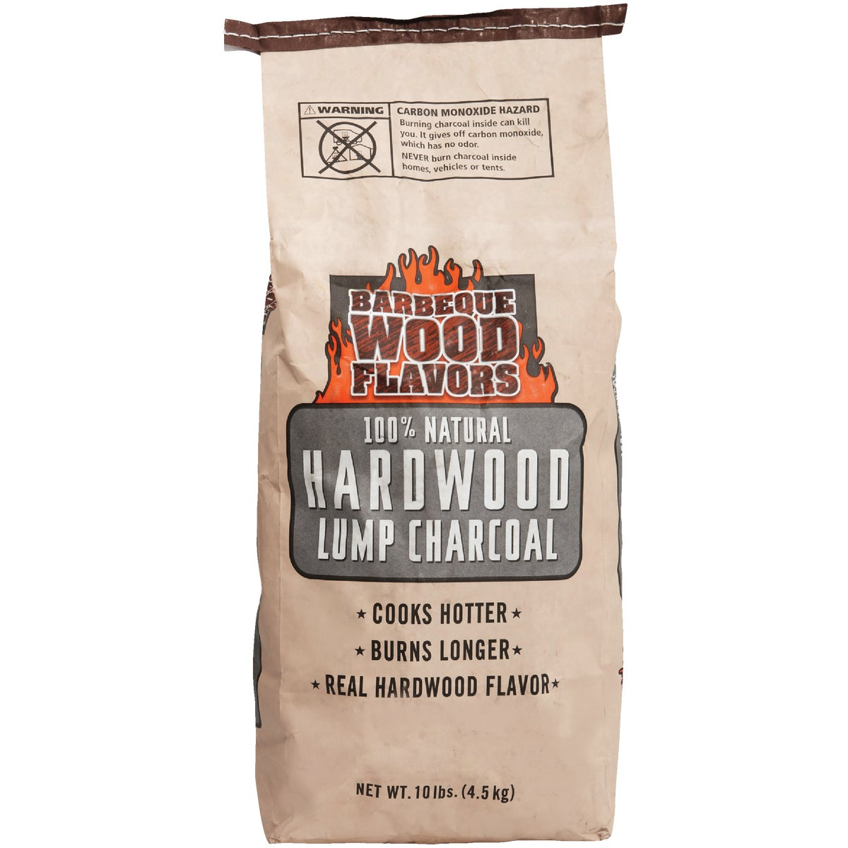 10LB LUMP CHARCOAL - 30501 by Barbeque Wood Flavor