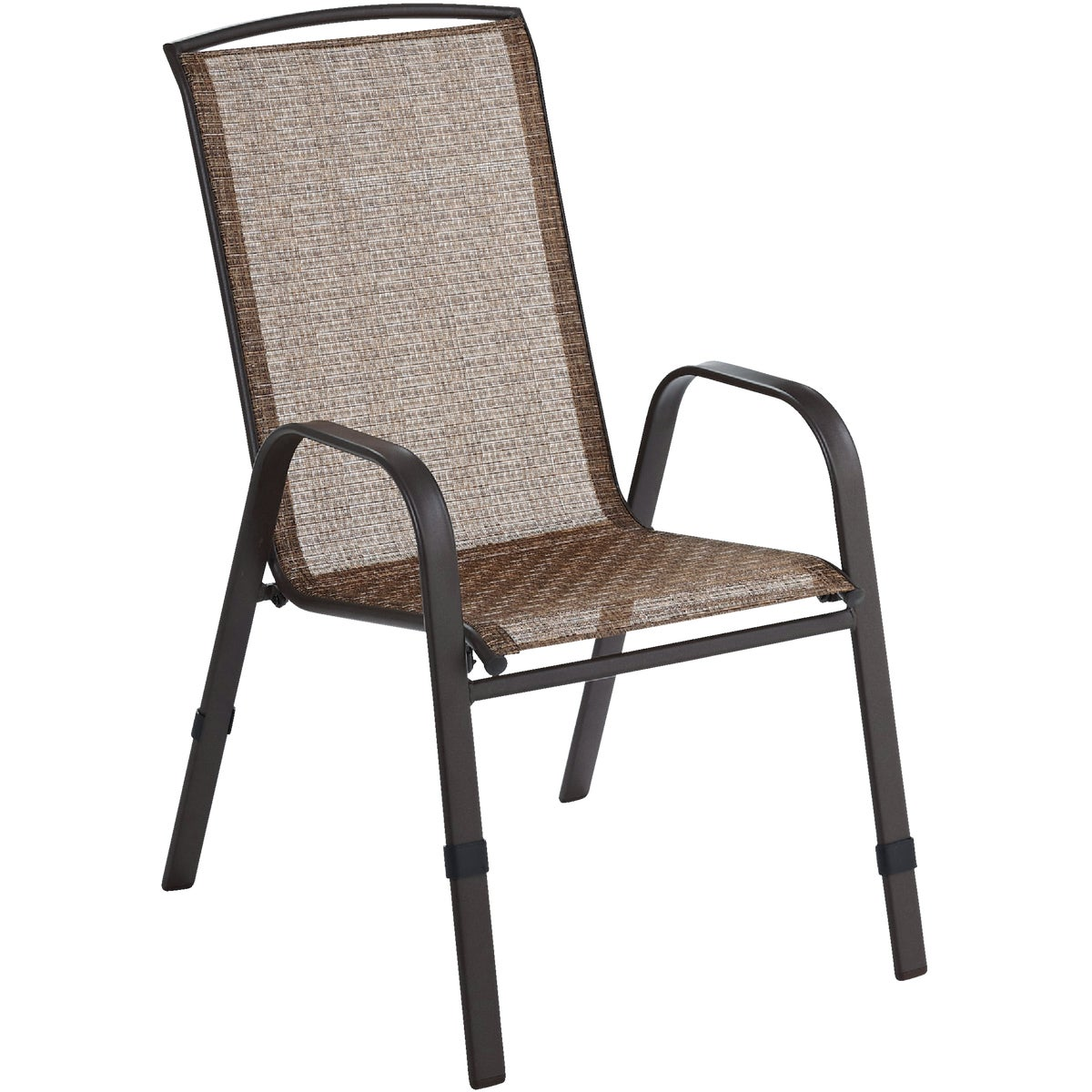BROWN SLING STACK CHAIR - SL-4237BE by Do it Best