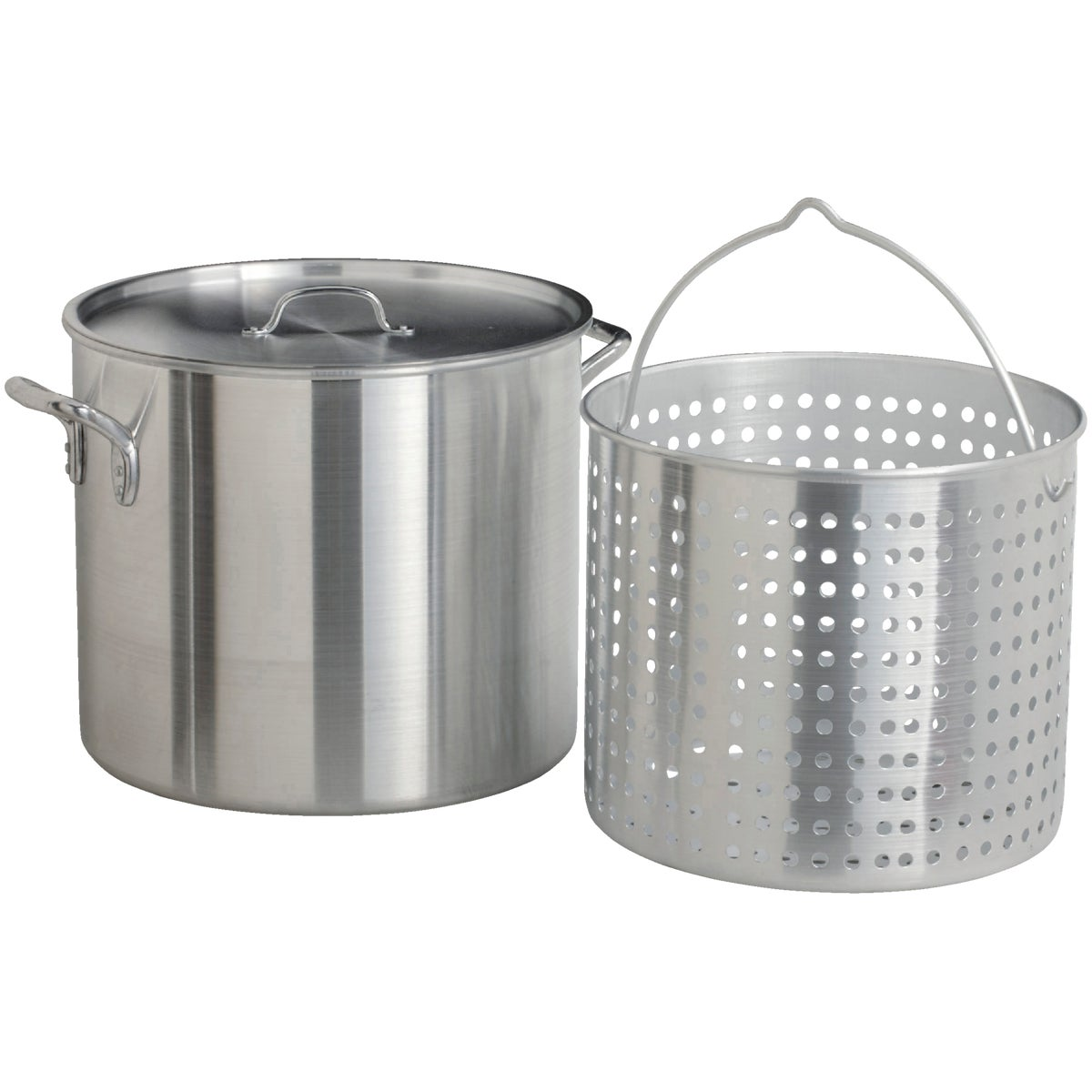 80QT ALUMINUM POT - WG-RPB1080 by Kamach LLC