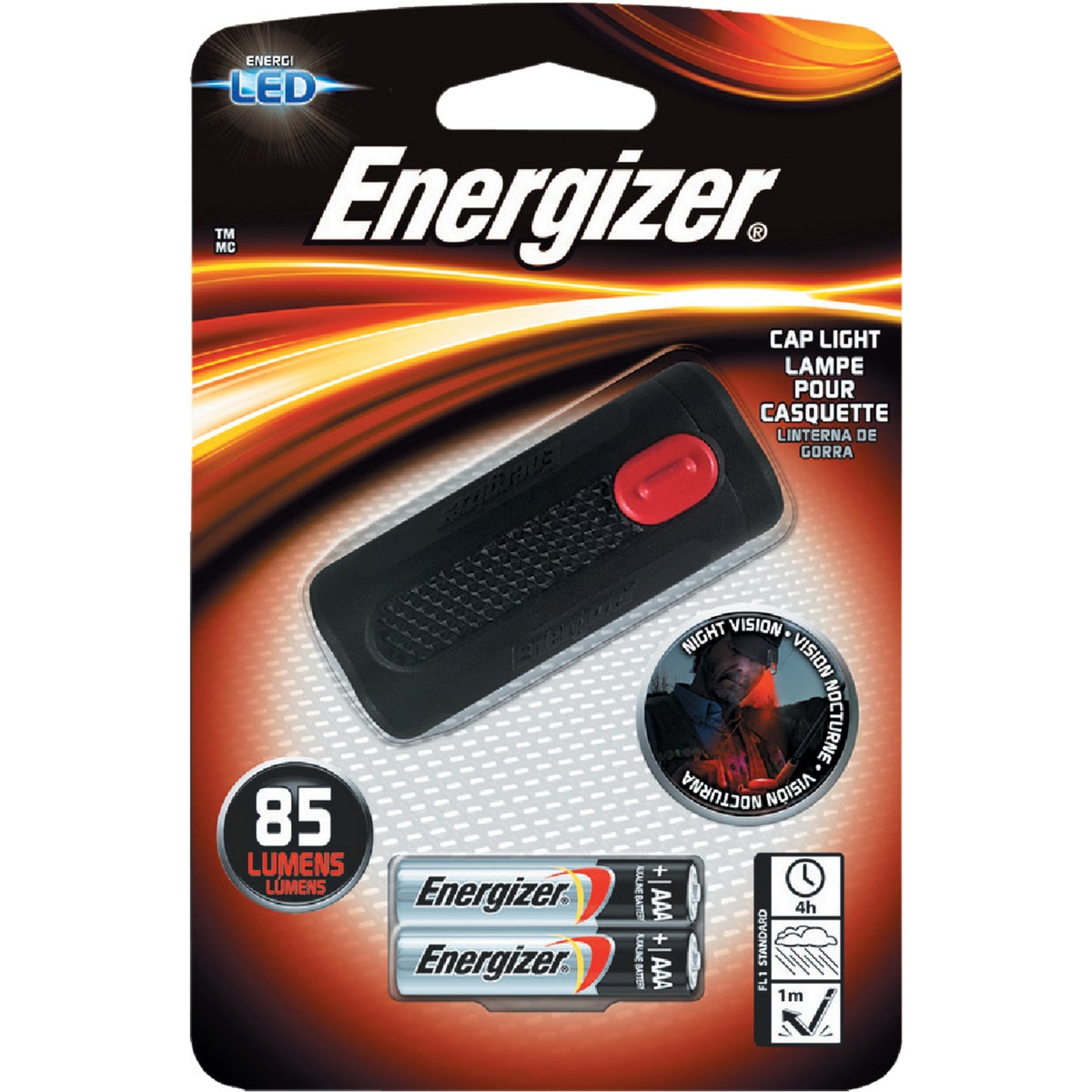3 LED CAP LIGHT - CAPW2BBP by Energizer
