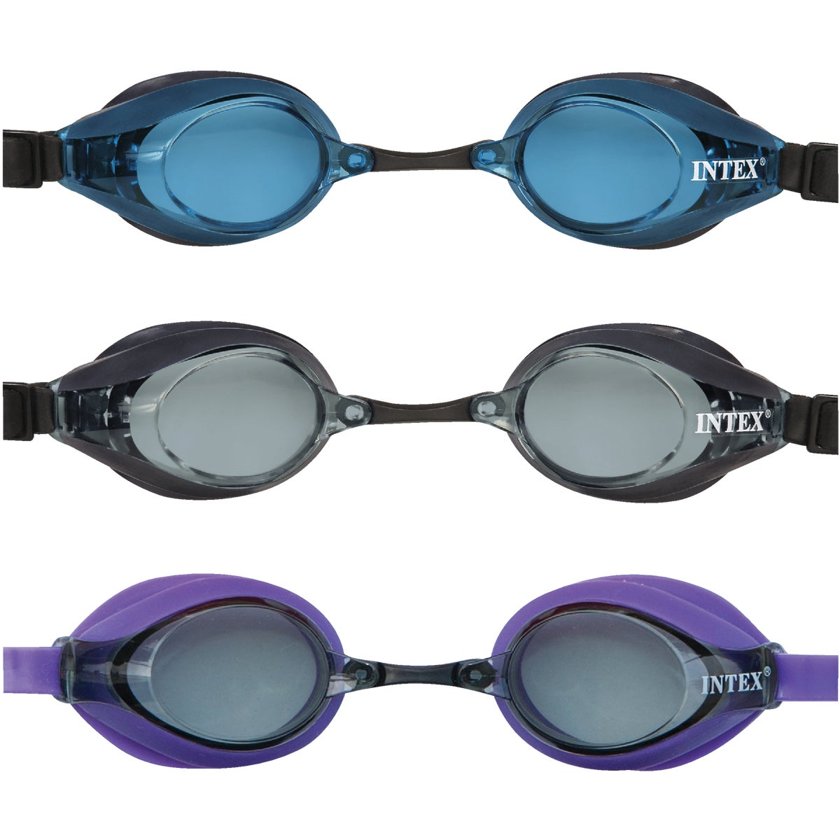 PRO RACING GOGGLES - 55691 by Intex Recreation