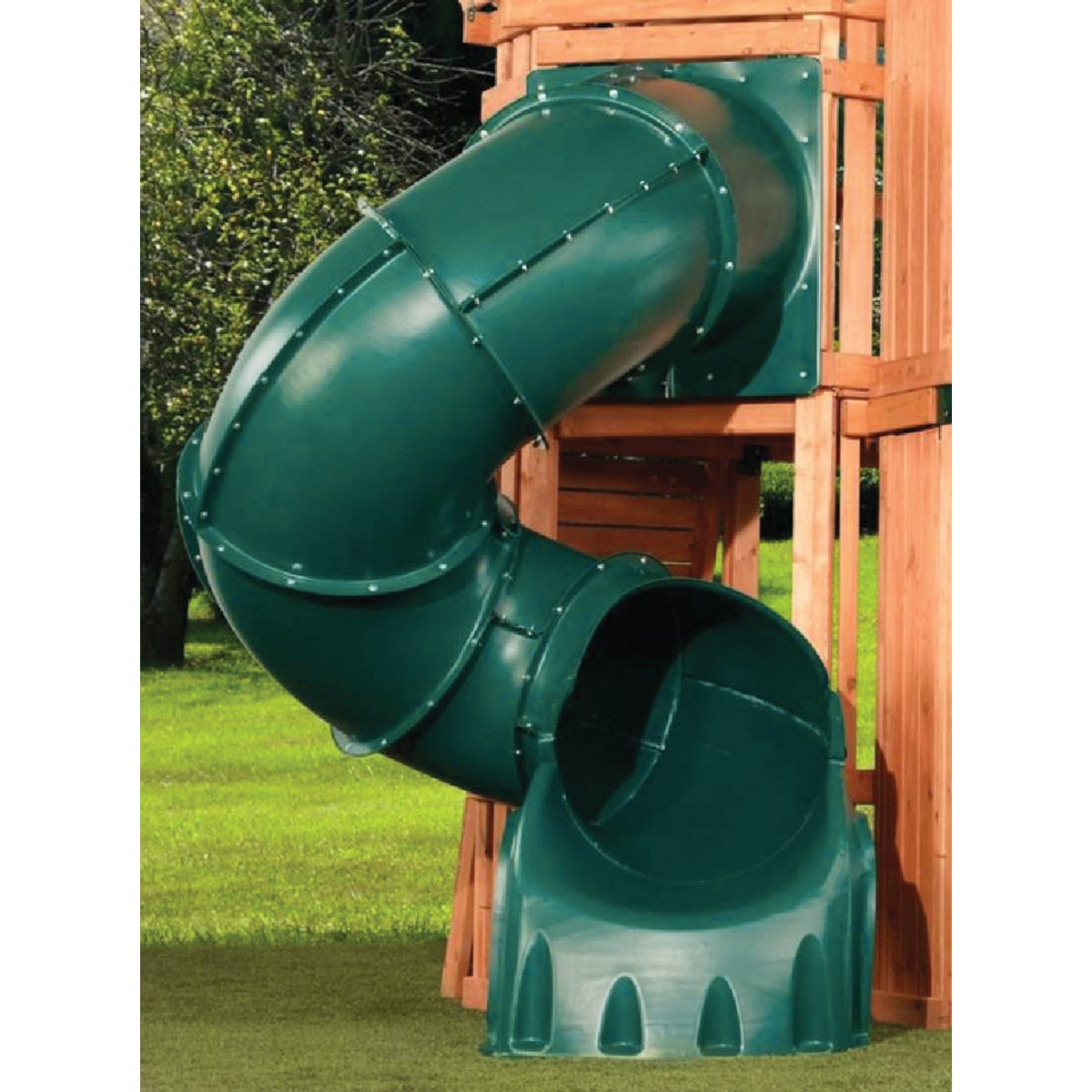 GRN 5' TURBO TUBE SLIDE - NE 4692-T by Swing N Slide Corp