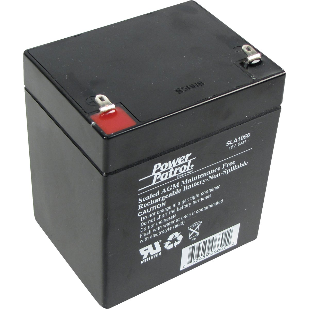 SLA 12V 5AMP BATTERY - SEC1055 by Interstate All Batty