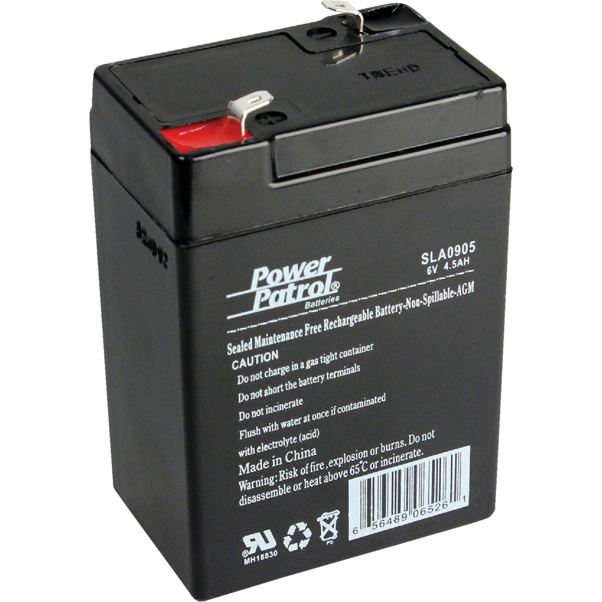 SLA 6V 4AMP BATTERY - SEC0905 by Interstate All Batty