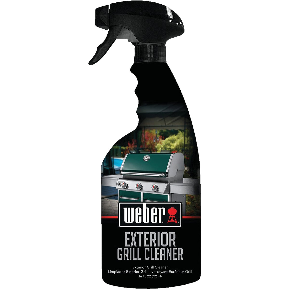 WEBER EXT GRILL CLEANER