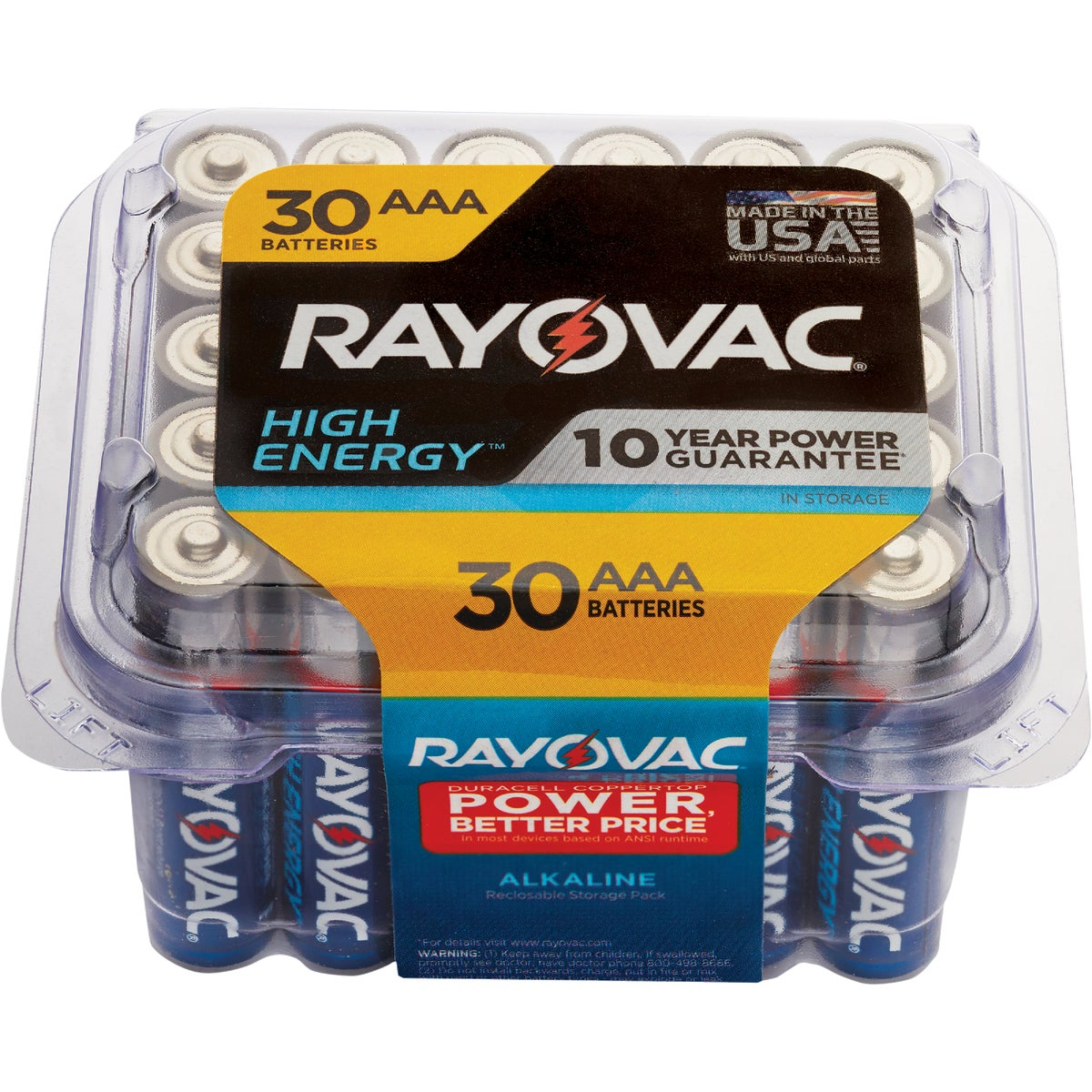 PROPACK AAA 30 PK - 824-30F by Ray O Vac