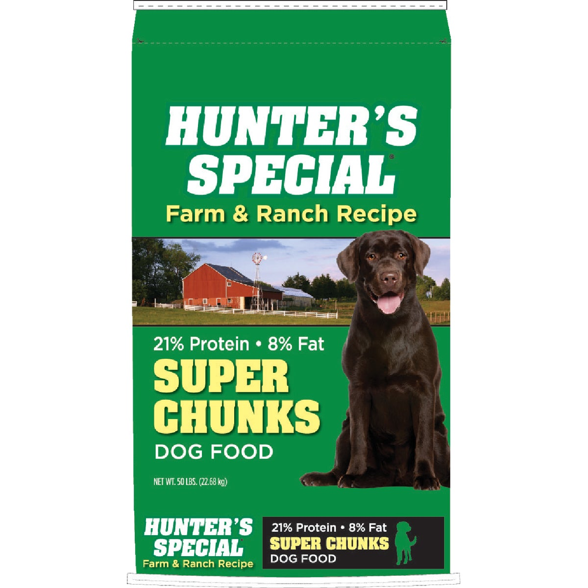 50LB SUPR CHUNK DOG FOOD