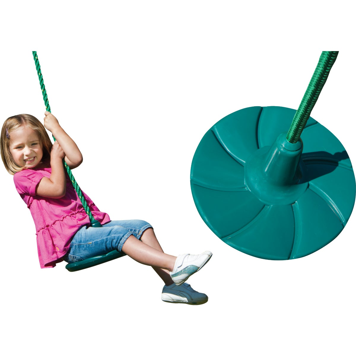 Swing N Slide SHOOTING STAR DISC SWING NE4574