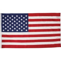 Valley Forge 3X5 POLY COTTON FLAG USS-1