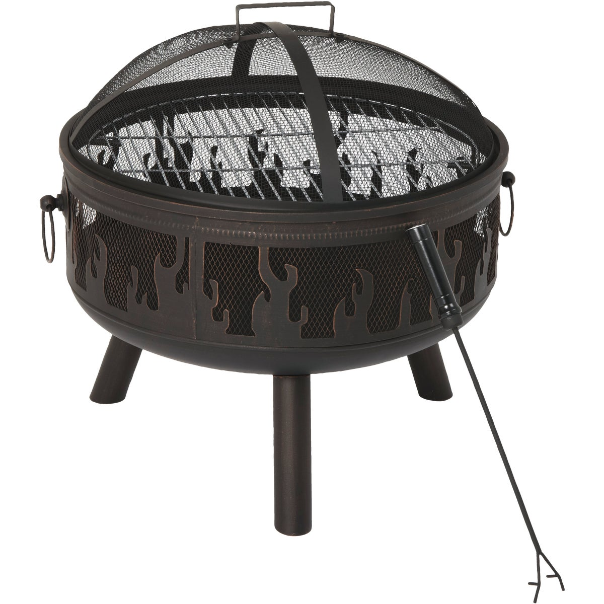"24"" FIRE FLAME PIT"