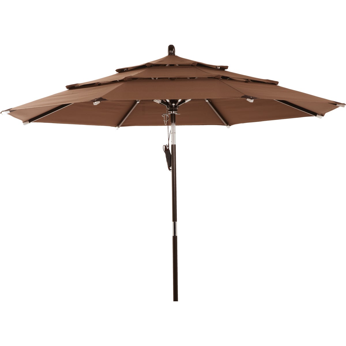 THREE-TIER UMBRELLA BRN - TJWU-007-270 BRN by Do it Best