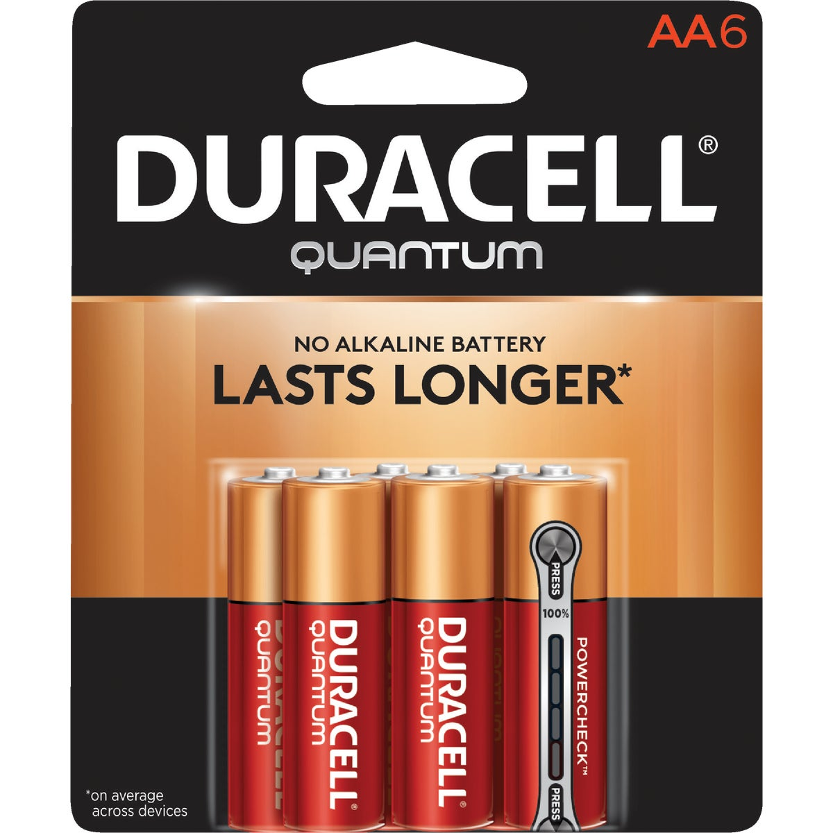 QUANTUM AA 6 PK - 66224 by P & G  Duracell