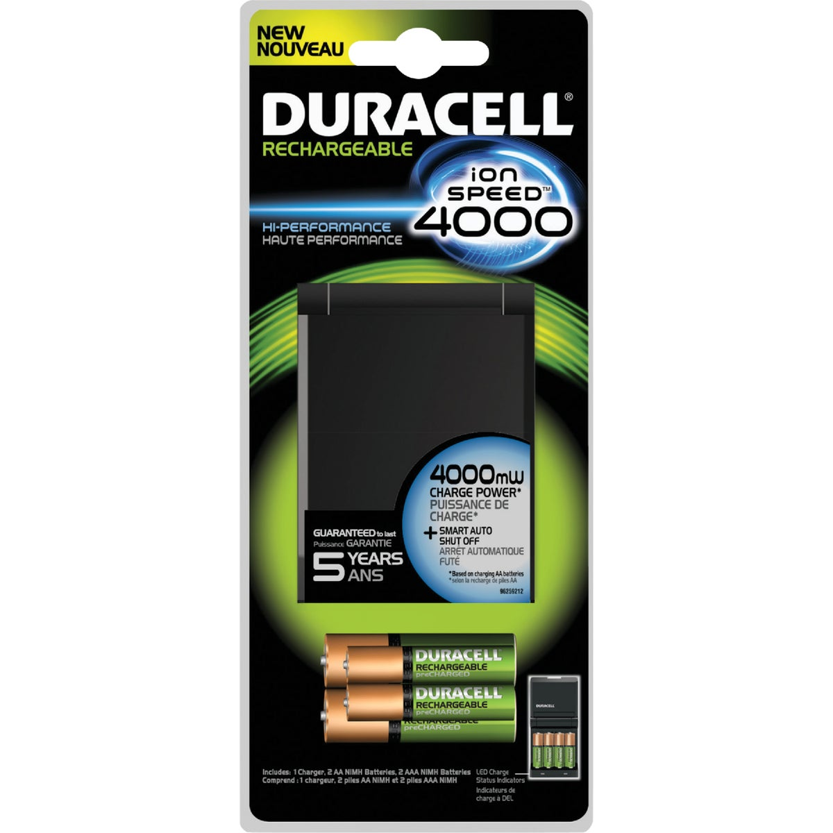 DURACELL ION SPEED 4000