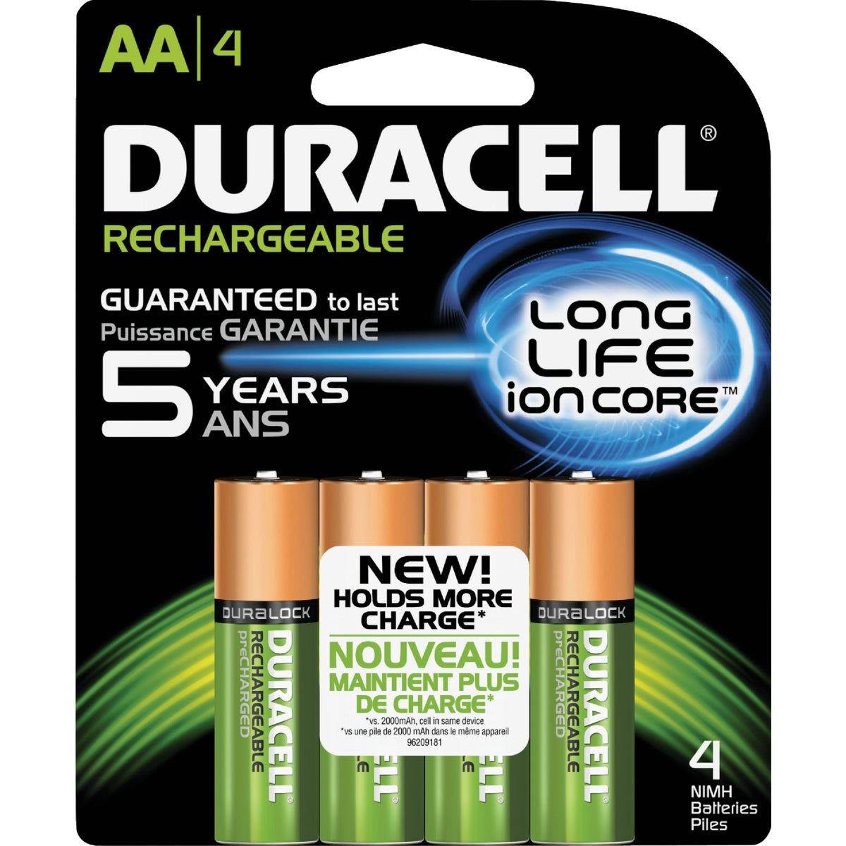 DURACELL STAYCHARGED AA