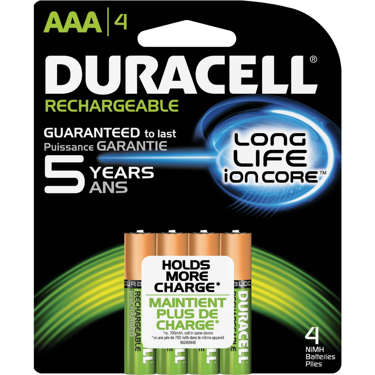 DURACELL STAYCHARGED AAA - 66160 by P & G  Duracell