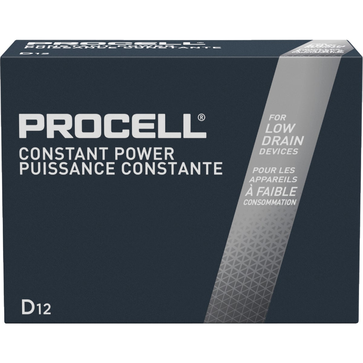 12PK D PROCELL BATTERY - 85395 by P & G  Duracell