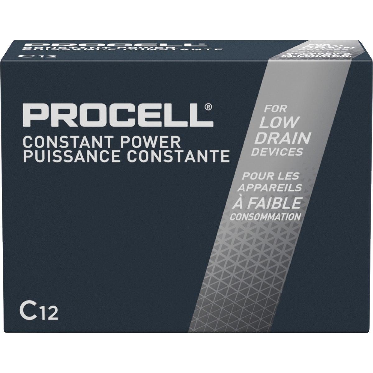 12Pk C Procell Battery