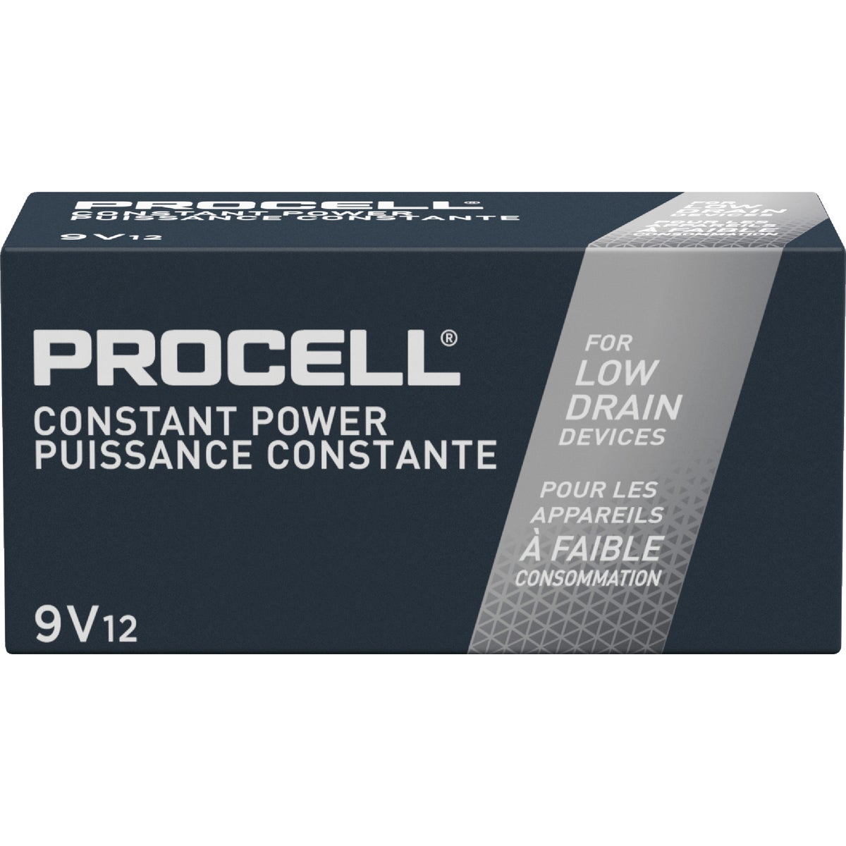 12PK 9V PROCELL BATTERY - 85695 by P & G  Duracell