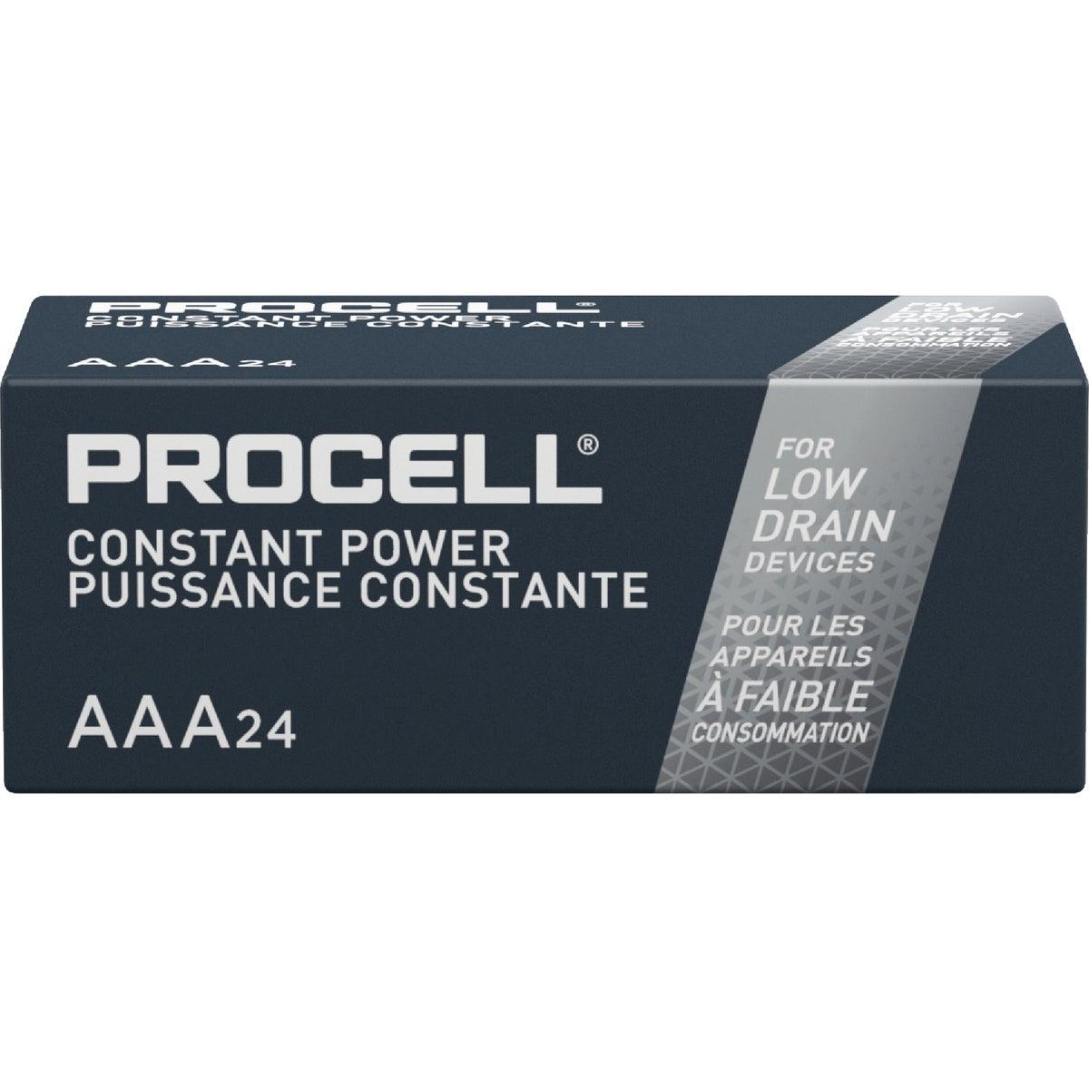 24Pk Aaa Procell Battery