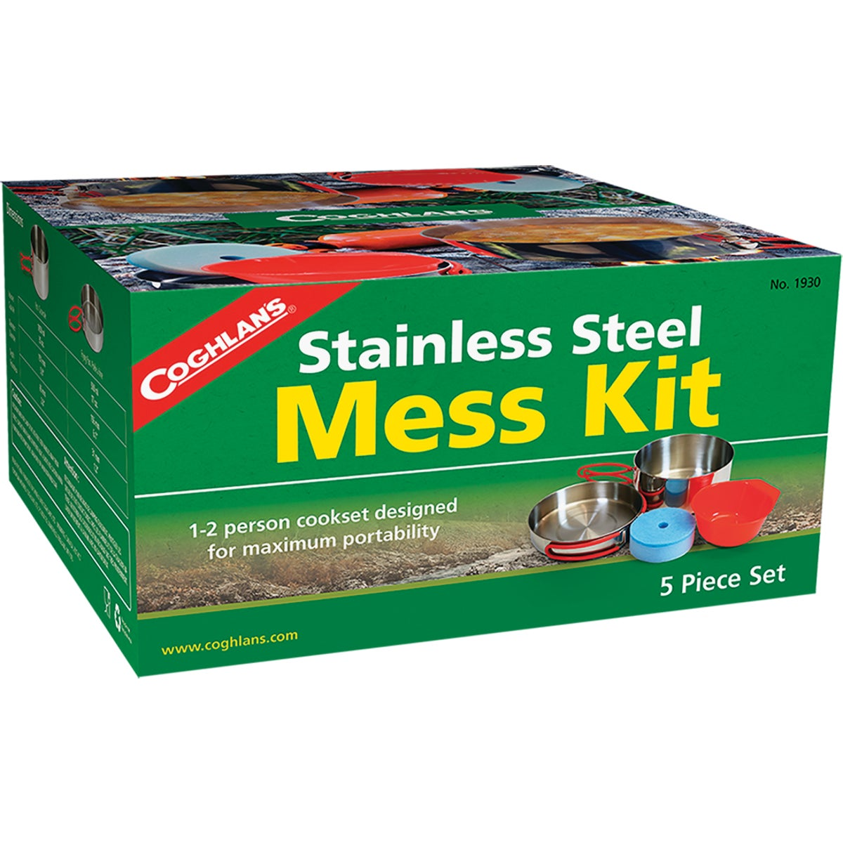 5PC MESS KIT W/COVER