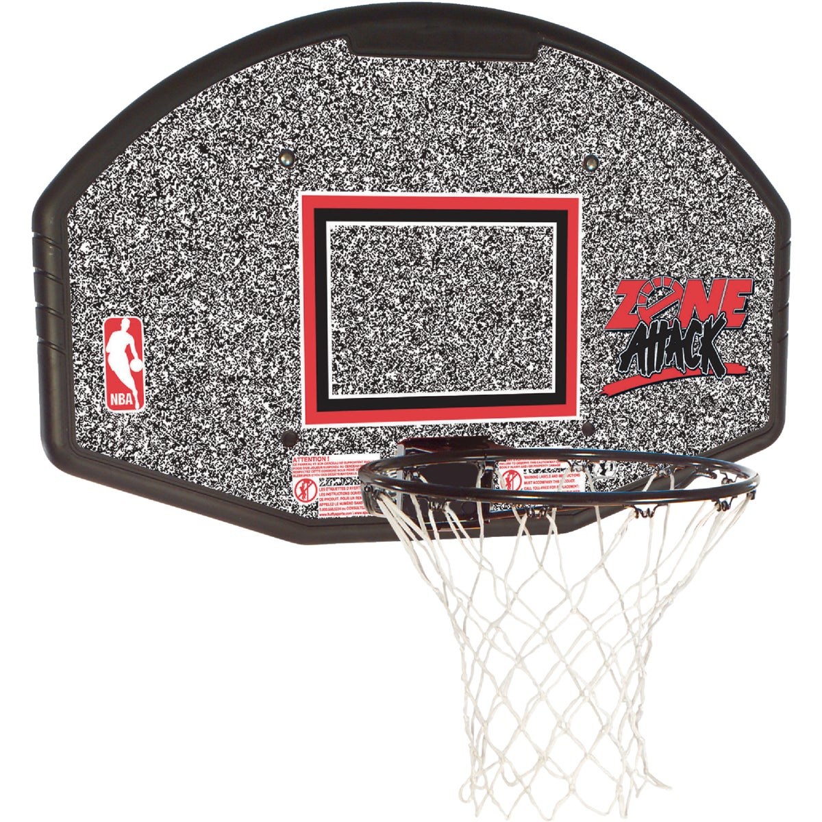 "44"" BACKBOARD N RIM - 80602R by Huffy Sports"