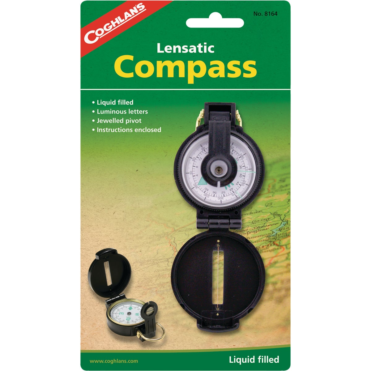 LENSATIC COMPASS - 51610 by Academy Broadway Cor