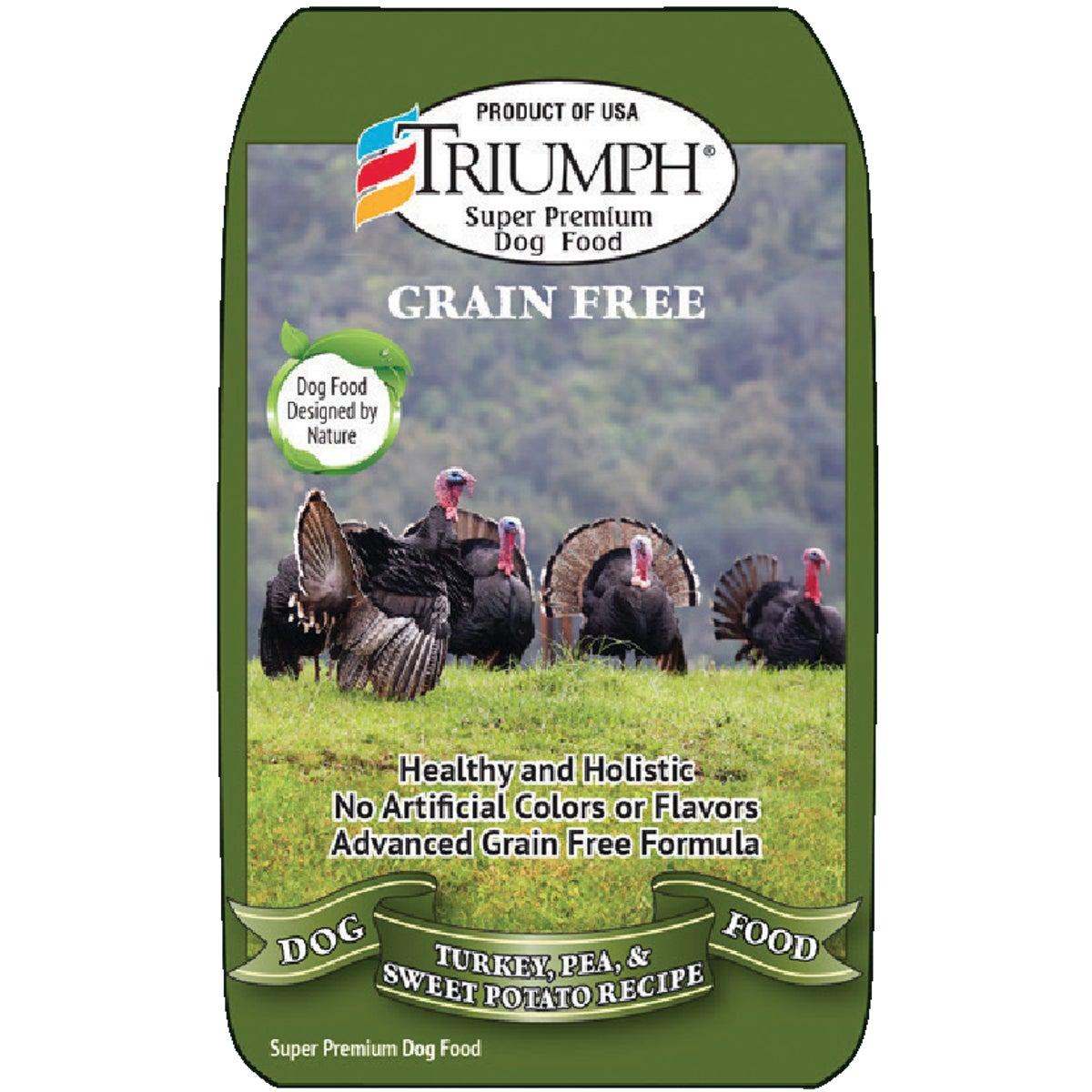 TRI GRAIN FREE TURKEY - 39020 by Sunshine Mills