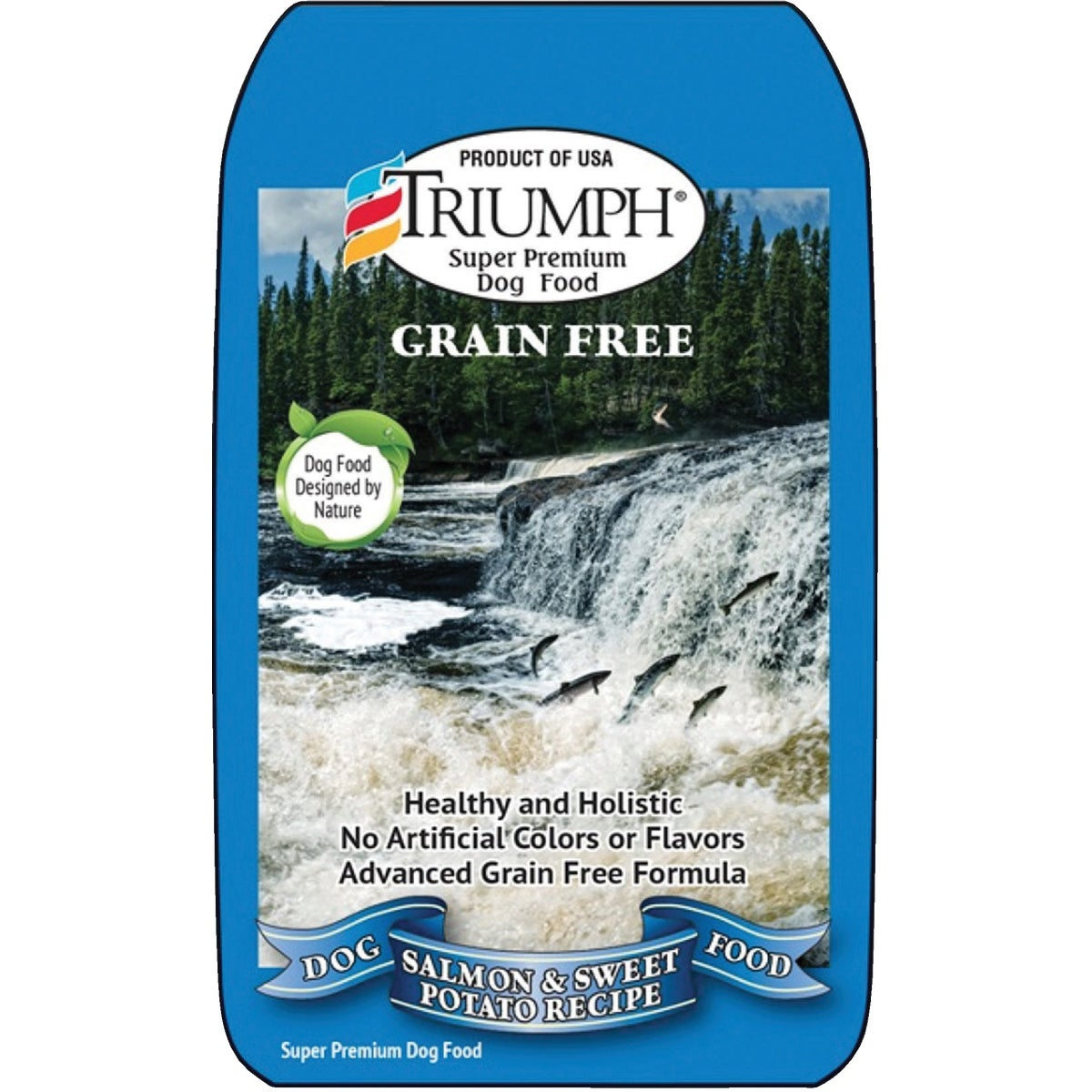 TRI GRAIN FREE SALMON - 39017 by Sunshine Mills