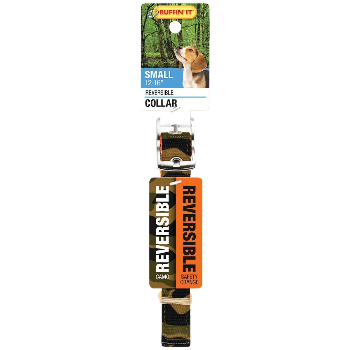 SM CAMO/ORANG REV COLLAR - 31301 by Westminster Pet