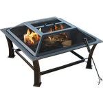 Outdoor Expressions 30 In. Square Fire Pit