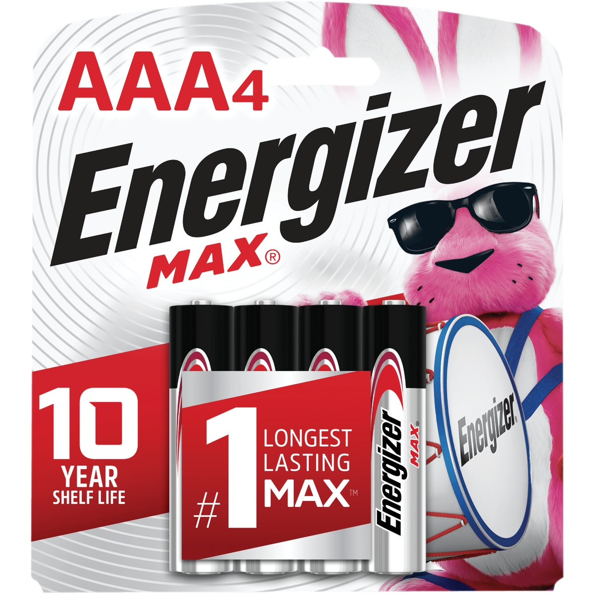 4CD AAA ALKALINE BATTERY - E92BP-4 by Energizer
