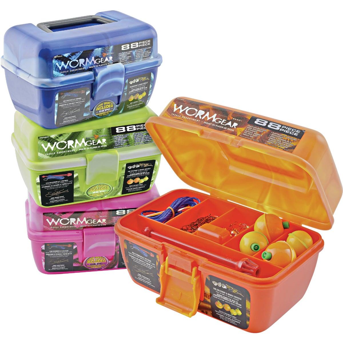 WRMGR 88PC TACKLE BOX