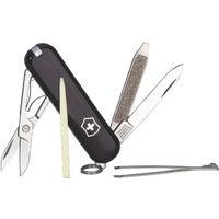 Victorinox Swiss Army BLACK CLASSIC KNIFE 53003