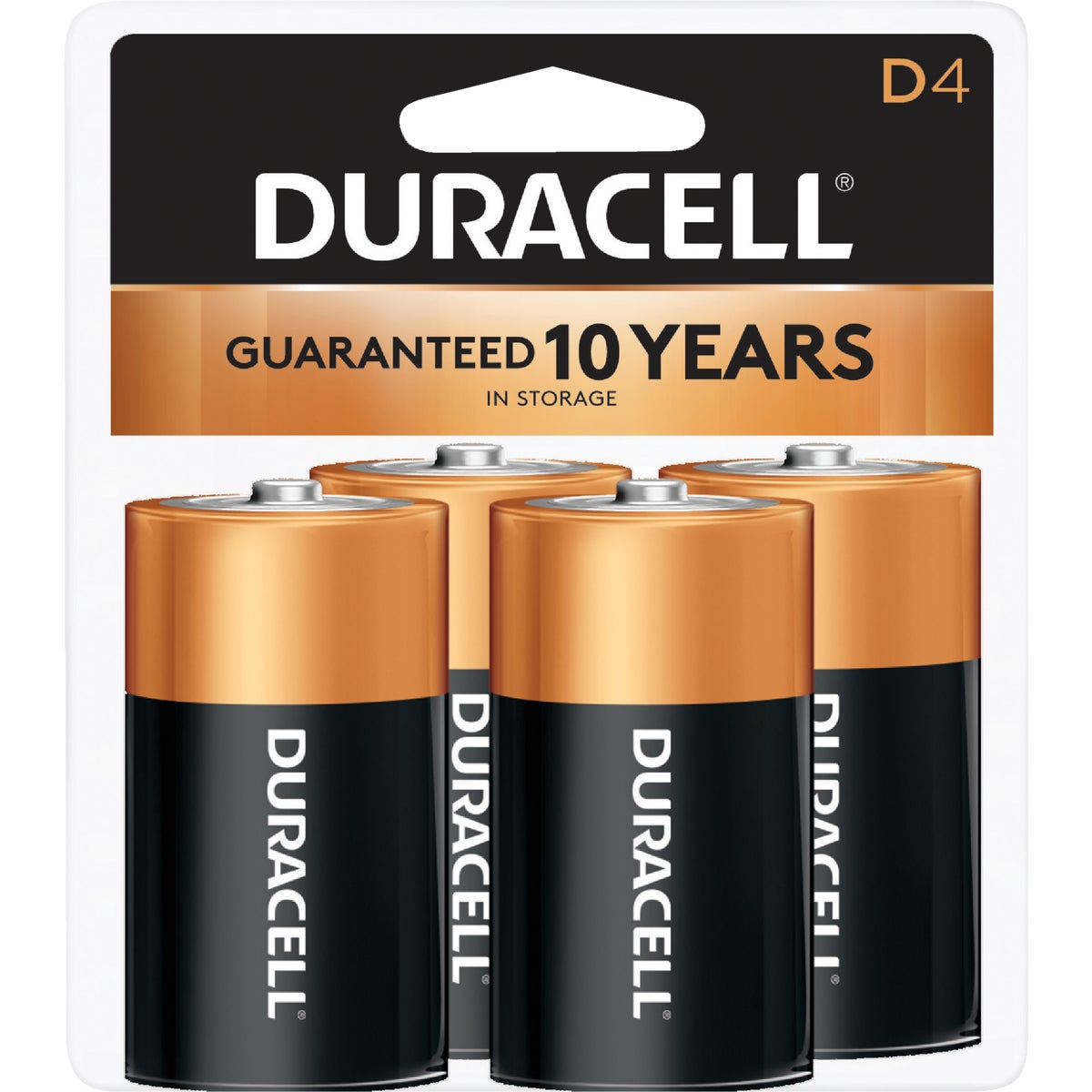 4PK D ALKALINE BATTERY