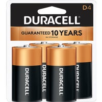 Duracell CopperTop D Alkaline Battery, 3361