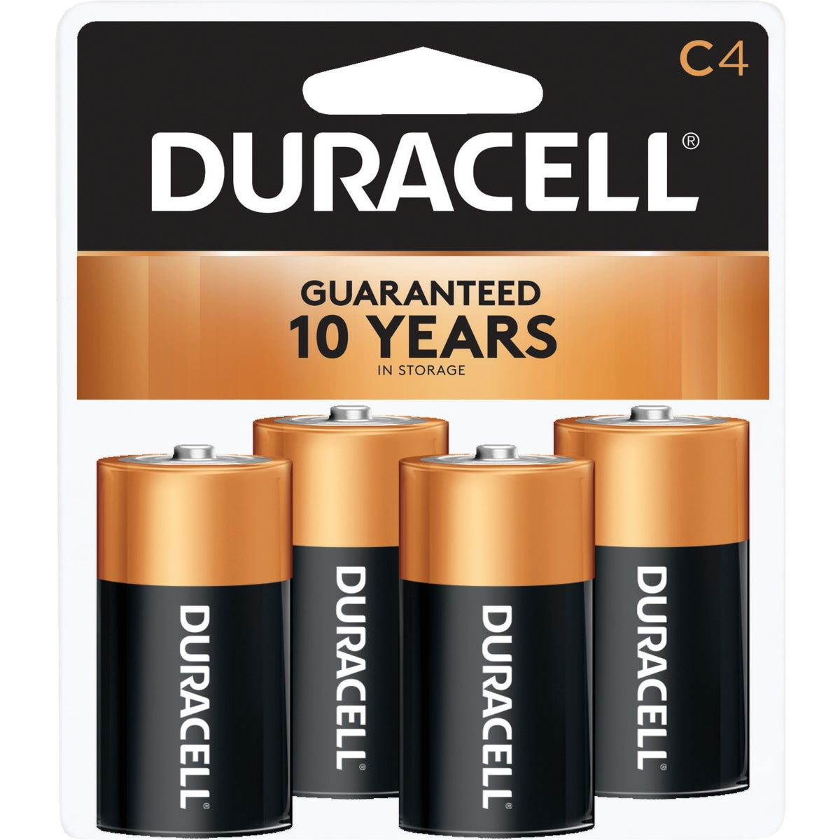 4PK C ALKALINE BATTERY - 13848 by P & G  Duracell