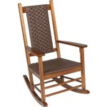 Knollwood Classic Woven Rocking Chair
