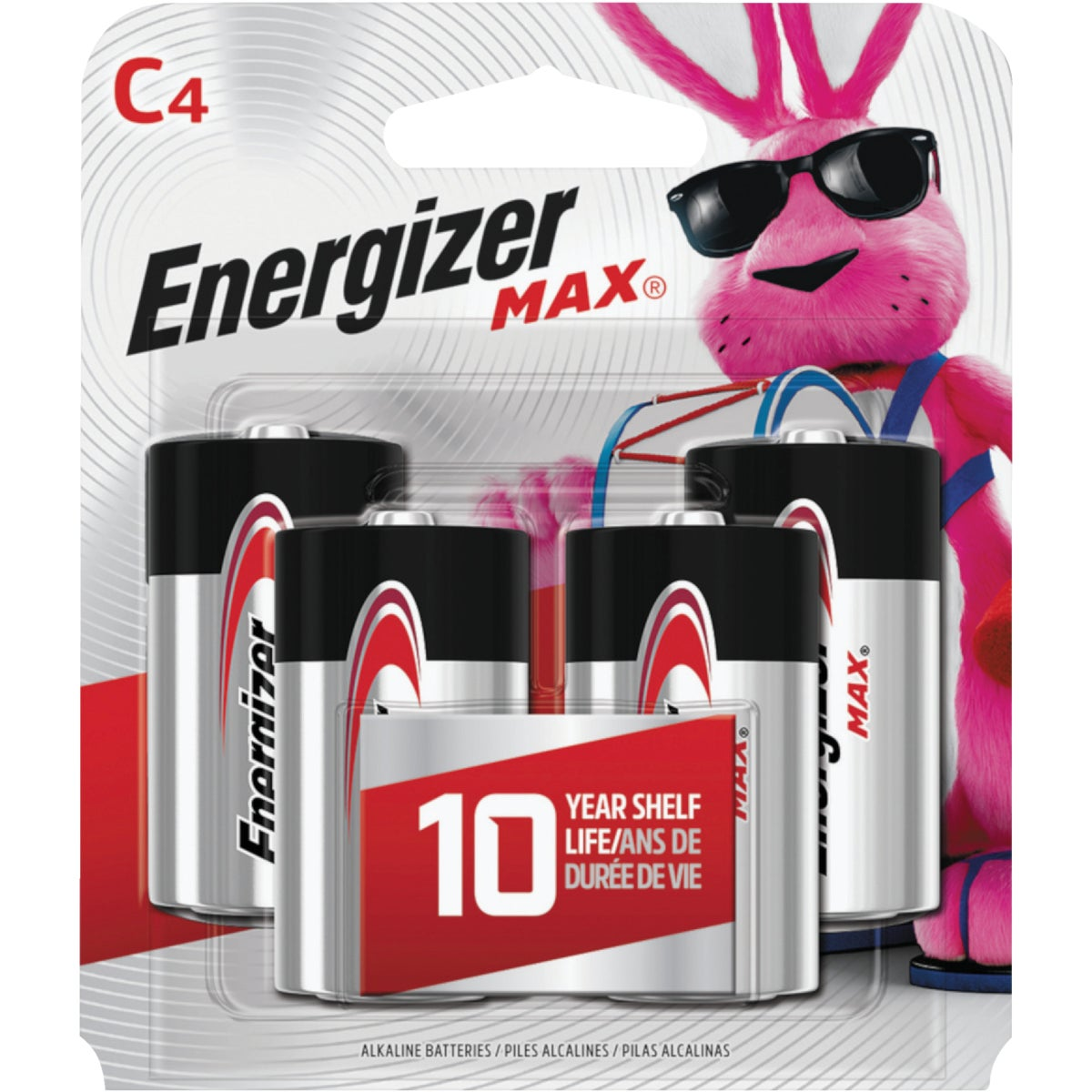 4CD C ALKALINE BATTERY - E93BP-4 by Energizer